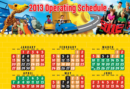 Plan your 2013 LEGOLAND Florida and LEGOLAND Water Park visit for 2013