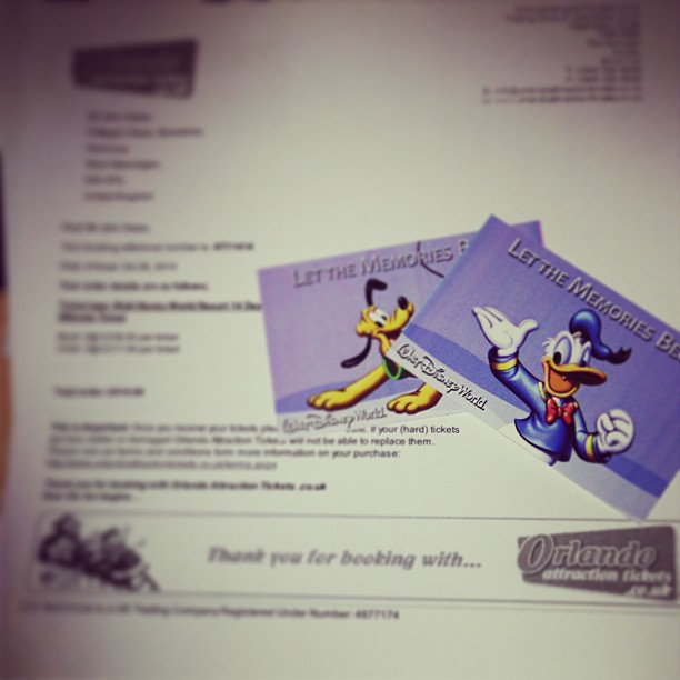 ticket letter