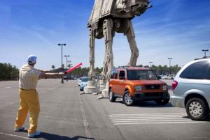 car parking theme park
