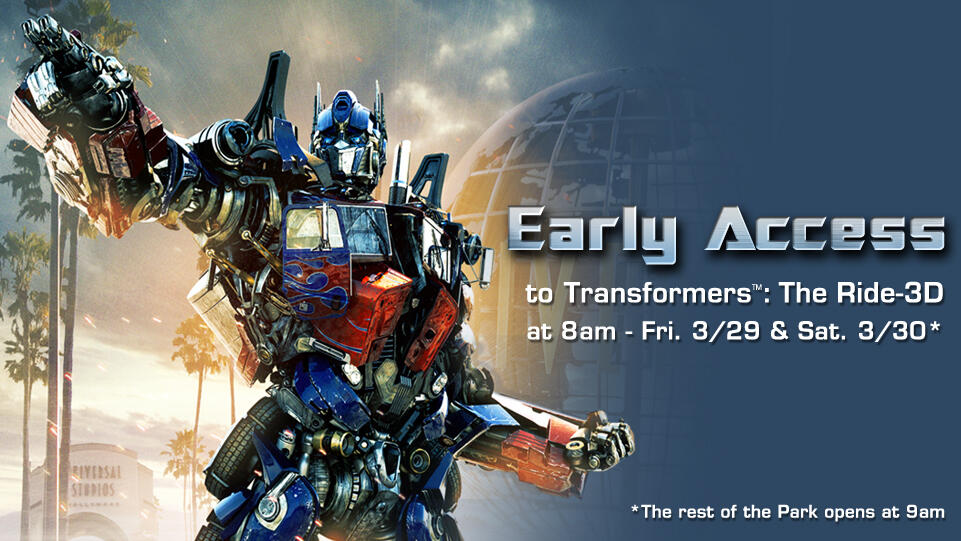 transformers early access