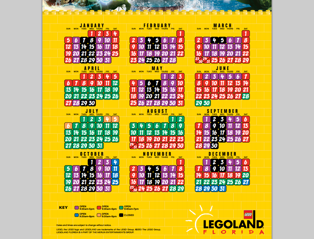 Legoland coupons wendy's 2018