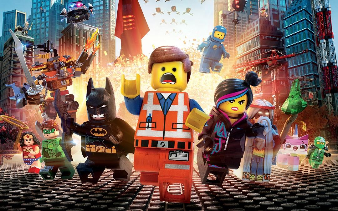 Mørkøv cinema kort over Legoland