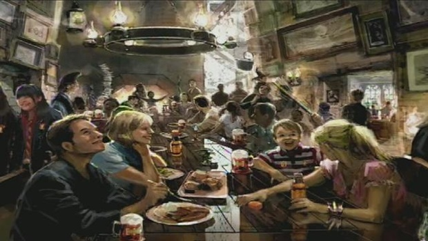 Universal Orlando Reveal The Food And Drink You'll Be Able To Sample ...