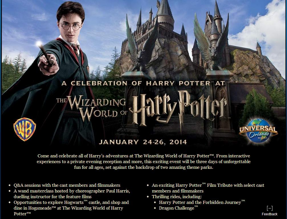 Harry Potter celebration