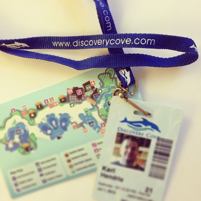 discovery cove lanyard