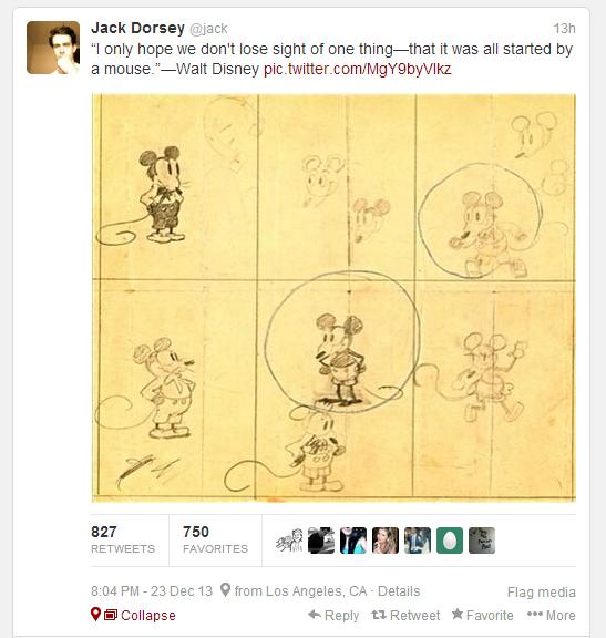 jack Dorsey Disney