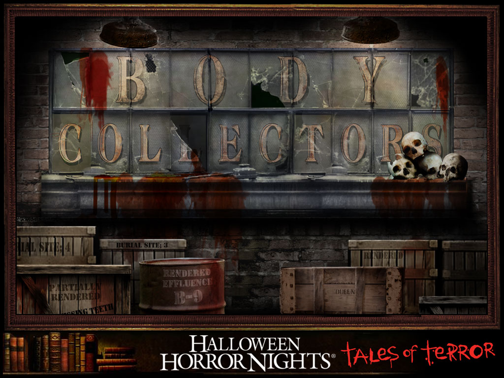 Body Collector's House at Halloween Horror Nights