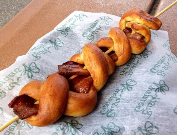 bacon pretzel