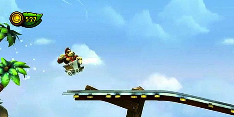 tropical-freeze-gameplay-mine-carts